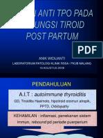 Peran Anti Tpo Pd Disfungsi Tiroid