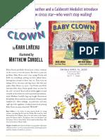 Baby Clown by Kara LaReau Author Q&A
