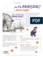 Have You Seen My Monster? by Steve Light Teachers' Guide