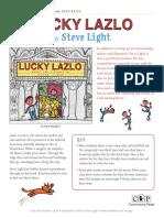 Lucky Lazlo by Steve Light Teachers' Guide