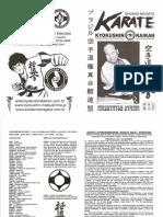 Apostila Karate Kyokushinkaikan