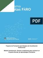 Mo769dulo Introductorio Trayecto Integrantes Equipo de Coordinacion Institucional PDF Final