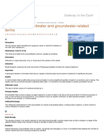 Glossary of Groundwater and Terms _ British Geological Survey (BGS)