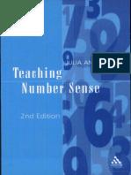 Julia Anghileri - Teaching Number Sense-Continuum (2006)