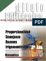 1301-16 MATEMATICA Proporcionalidad- Semejanza-Razones trigonométricas.pdf