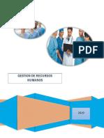 Gestión de Recursos Humanos en Enfermeria