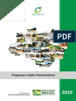 Cartilha Programa e Acoes Individual 2019
