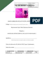MANUAL DE BIOSEGURIDAD SALON DE BELLEZA