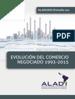 Libro Evolucion Comercio Negociado 1993 2015