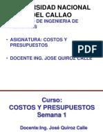Ppt 1 Costos y Presupuestos Unac 2016-2