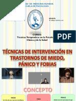 TÉCNICAS TERAPÉUTICAS EN LA PSICOLOGÍA CLÍNICA Y DE LA SALUD