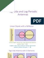 Yagi-Uda and Log-Periodic Antennas