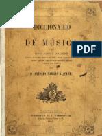 Antonio Fargas y Soler, Diccionario de Música (1852)