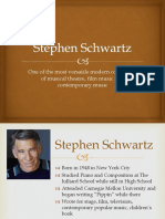 Stephen Schwartz presentation