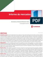 Informe de mercados internacionales
