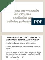 Regimen Permanente en Circuitos Excitados Por Señales Poliarmonicas