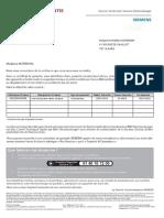 Certificat Garantie