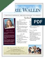 Laurie Wallin One Sheet