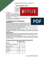 caso Netflix. estrategias y solucion de problemas