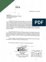 Carta de finalización de medida precautoria