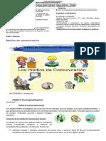 Guia de Español Grado Tercero, Tercer Periodo Alumnos