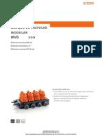 Bloque de Valvulas Modulares Stubbe Mvb 200