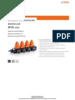 Bloque de Valvulas Modulares Stubbe Mvb 100