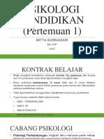 Psikologi Pendidikan-pert. 1