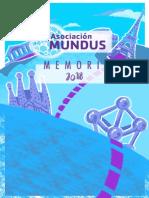 Memoria de Actividades Mundus18_cast