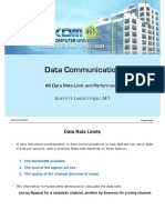 6. Data Rate Limit and Performance