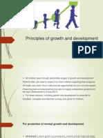 Principle of Growth and Developmental