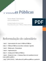 Aula - Políticas no campo de Assistência Social