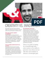 Creativity vs Innovation(2)
