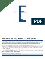 Agile Maturity Matrix for Teams