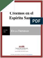 CreemosEnElEspirituSanto.leccion1.Manuscrito.espanol