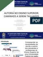 AUTORIA NO ENSINO SUPERIOR- CAMINHOS A SEREM TRILHADOS.pdf