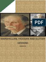 Difference Between Marshallian[1]