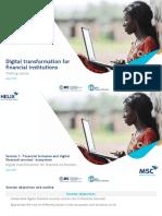 Digital Transformation MFIs