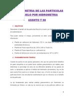 Laboratorio 15 Ensayo de Hidrometria