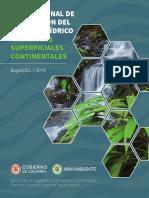Guía Nacional de Modelación Del Recurso Hídrico Para Aguas Superficiales Continentales