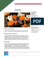 Recetas PDF Galletas Halloween