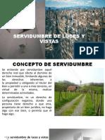 SERVIDUMBRE DE LUCES Y VISTAS