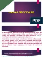 FERIDAS EMOCIONAIS