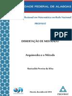 Arquimedes e o Método-BOMBOM