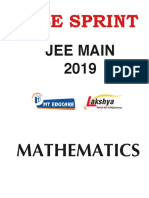 Maths for jee mains