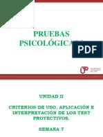 Clase de pruebas psicologixas