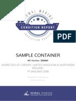 Fullreport Ci Sample Container 01012018 01012018