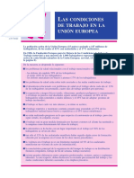 Informe Europeo Working Conditions (Sp)