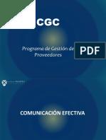 Presentación de comunicación