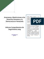 Informe Comprehensivo 20091 1